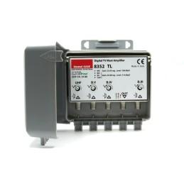Antenna UHF 10 elementi, guadagno 15 dBi con filtro LTE integrato (470-790MHz)