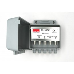 Presa standard tedesco e bipasso 10/16A 250 V ac Matix - per spine standard Italia 2P 10A, 2P+T 10A, 2P+T 16A e standard tedesco