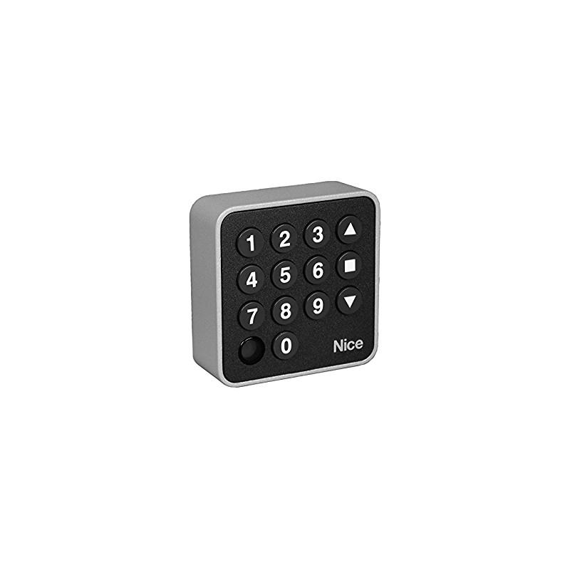 Sistema di allarme senza fili nero composto da Hub + Motion + Door + Space